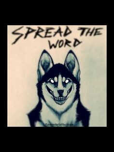 Drawings by Hope (favoredartist). Spread the word... Smile Dog