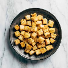 How to Cook Tofu! Our four go-to ways to prepare tofu: baked, sautéed, fried, and scrambled. Perfect for a variety of meals. YUM! #tofu #howto #vegan #vegetarian Firm Tofu Recipes, Vegan Vegetarian, Fries, Healthy Eating, Cooking Recipes, Meals, Baking, Kitchen, Eating Healthy