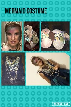 My version of a mermaid costume Some Pictures, Mermaid, Costumes, Jewelry, Jewlery, Dress Up Clothes, Jewerly, Fancy Dress, Schmuck