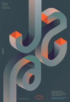 Typosters is a series of selected Arabic typography posters that express Arabic words/phrases in geometric forms. The series aims to enrich the Arabic design culture in century. Web Design, Game Design, Typo Poster, Typographic Poster, Poster Design Inspiration, Typography Inspiration, Graphic Design Posters, Graphic Design Typography, 3d Modellierung