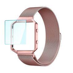 Fitbit Blaze Band Large (6.3-9.8 inch), HanTop Stainless ... https://www.amazon.com/dp/B01NBDFDX9/ref=cm_sw_r_pi_dp_x_Kncuyb3SJTYRB
