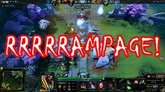 What is RAMPAGE in DOTA 2?