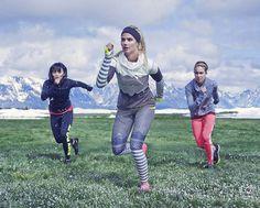 Ideia da semana: Treinar sem medo  -  High-Tech Girl   Exercícios com as atletas de Inverno na app Nike+ Training Club