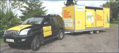 About TCM Trailers - Trailer hire specialists Britain, Campaign, Shell, Conch, Bookshelves, Seashells