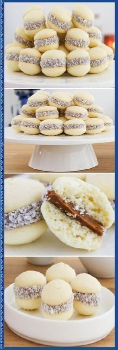 Cookie Recipes, Dessert Recipes, Chilean Recipes, Love Food, Sweet Recipes, Donuts, Bakery, Food Porn, Brunch
