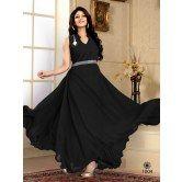 fabfiza-black-velvet-georgette-semi-stitched-anrkali-gown
