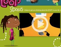 Loop Scoops - videos to get you thinking about the STUFF in your life - -  Pinned by @PediaStaff – Please Visit http://ht.ly/63sNt for all our pediatric therapy pins