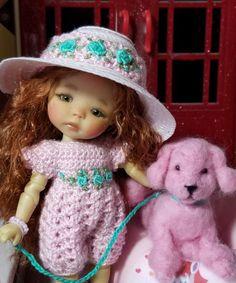 Bjd, Doll Clothes, Art Deco, Barbie, Crochet Hats, Spaces, Dolls, Handmade, Fashion