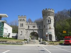 """""""Elsinore Castle."""" Served as entrance to old Natural History Museum, Cincinnati OH"""