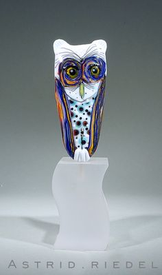 Astrid Riedel Glass Artist: A little whimsy...♥♥