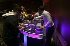 LED Blackjack, Casino Table