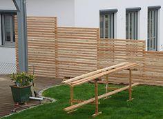 Fabulous Holz Lutz Sichtschutzw nde