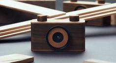 NOPO CAMARAS: camaras estenopeicas de madera. Empresa que sale de Zink Shower