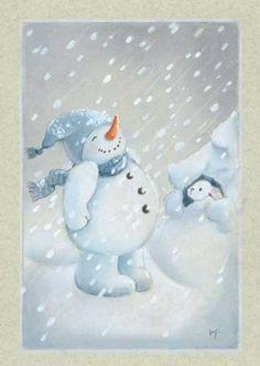 View album on Yandex. Christmas Drawing, Felt Christmas, Christmas Snowman, Vintage Christmas, Christmas Crafts, Christmas Decoupage, Winter Illustration, Mug Cozy, Winter Images