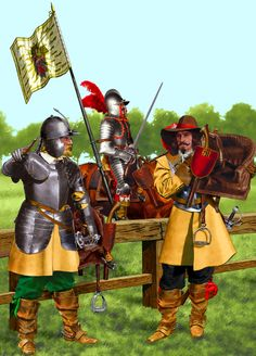 Imperial Cuirassiers, Thirty Years War