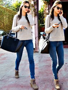 Alessandra Ambrosio out and about in West Hollywood, California, on December 9, 2013