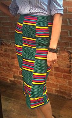 Hey, I found this really awesome Etsy listing at https://www.etsy.com/uk/listing/247670098/african-print-pencil-skirt