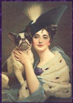 Rebop's Boston Terriers, Vintage Postcards, Illustrations, Photos ...