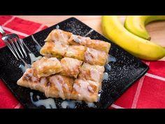 Thai Banana Pancake Recipe (Thai Roti) โรตีกล้วยหอม | Thai Recipes - YouTube