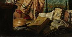 Rembrandt, Musicerend gezelschap (detail), 1626, Rijksmuseum