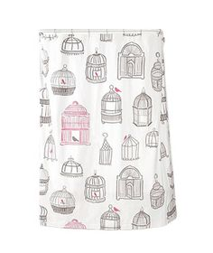 Birdcage Shower Curtain from Urban Outfitters