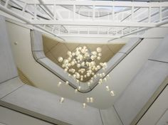 12  Lighting installation in Atrium