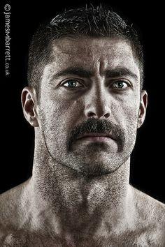 Nicholas Warr - Musician by james barrett Human Reference, Photo Reference, Photo Portrait, Portrait Photography, Mustache Men, Face Study, Moustaches, Photo D Art, Galleries In London