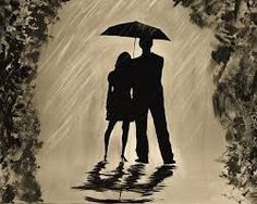 Image result for rain and love painting