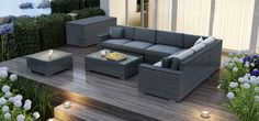 Ciesz się każdą chwilą spędzoną w swoim ogrodzie, na tarasie, czy patio. Modułowy zestaw wypoczynkowy MILANO uprzyjemni każde spotkanie!