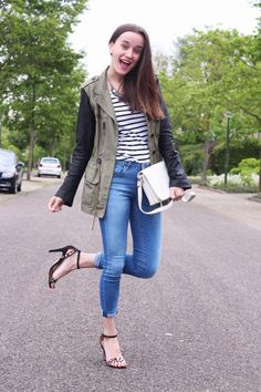 Outfit, Fashiable, fashion blogger, Zara jacket, Bristol heels