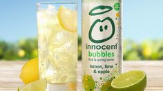 Innocent's bubbles range pack in one portion of a person's recommended five-a-day
