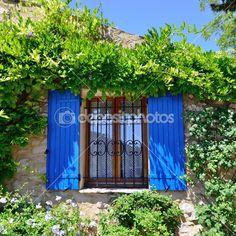 shutters window in foliage - Google Search