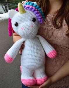 Ravelry: Mimi the Friendly Unicorn by Michelle Alvarez