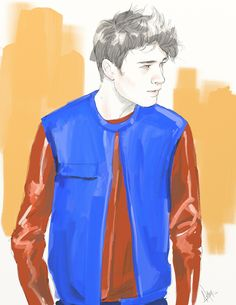 Illustration.Files: S/S 2014 Menswear Collections by ANMOM (Part 1)