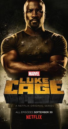 Created by Cheo Hodari Coker. With Mike Colter, Simone Missick, Theo Rossi, Alfre Woodard. Given superstrength and durability by a sabotaged experiment, a wrongly accused man escapes prison to become a superhero for hire. Comic Book Characters, Marvel Characters, Marvel Movies, Luck Cage, Luke Cage Series, Simone Missick, Mike Colter, Luke Cage Marvel, Tv Series 2016