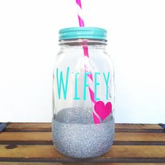 Hey, I found this really awesome Etsy listing at https://www.etsy.com/listing/197546248/personalized-tumbler-24oz-mason-jar