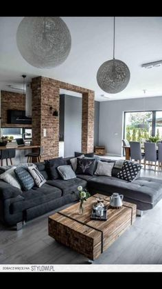 cozy grey livingroom