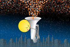 The tuba with stellar jet