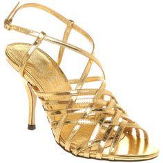 Short Gold Heels | Tsaa Heel