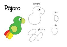 """Felt Animal Fun! Birds to make for illustrating Matthew 6:26---""""Look at the birds in the air..."""""""