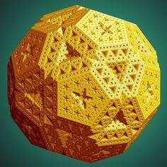 Un ballon de foot fractal - Images des mathématiques