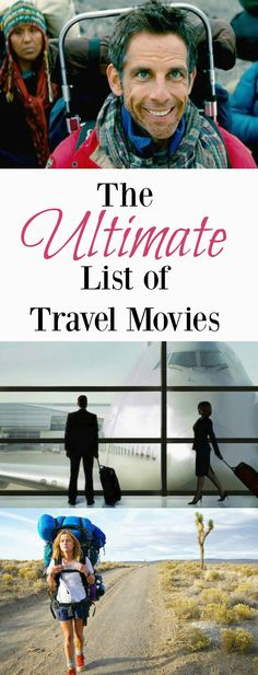 My (Current) Ultimate List of Travel Movies 28 films that will inspire wanderlust Books And Tea, Travel Movies, Movies And Series, Movie List, Wanderlust Travel, Wanderlust Quotes, Travel Backpack, Travel Quotes, Travel Tips