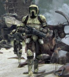 Clone scout troopers serving on Kashyyyk - Star Wars Star Wars Pictures, Star Wars Images, Star Wars Clone Wars, Star Wars Art, Star Wars Clones, Tableau Star Wars, Dc Comics, Star Wars Personajes, Star Wars The Old