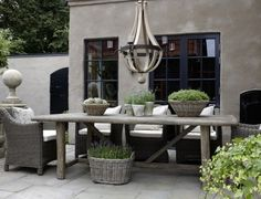 Sehe dir das Foto von Handwerklein mit dem Titel Mediterrane Terrasse und andere… Take a look at the photo of craftwork entitled Mediterranean Terrace and other inspirational images Spaaz. Outdoor Furniture Sets, Decor, Outdoor Decor, House, Interior, Home, Outside Living, Outdoor Rooms, Outdoor Dining