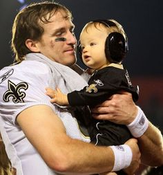Drew Brees - what a great dad