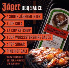 Jäger BBQ SAUCE