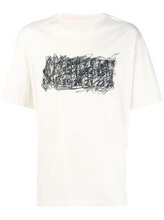 0e6f0b9991986 Maison Margiela Graffiti print short-sleeve T-shirt Graffiti Prints