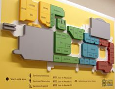 Wayfinding -Color wayfinding in Hospital Environment- Barra da Tijuca - Rio de…