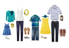 what to wear for family pictures summer 2014 - Google Search