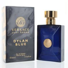 7732500a9f819 Dylan Blue 1.7 Oz Eau De Toilette Spray by Versace NEW Box for Men